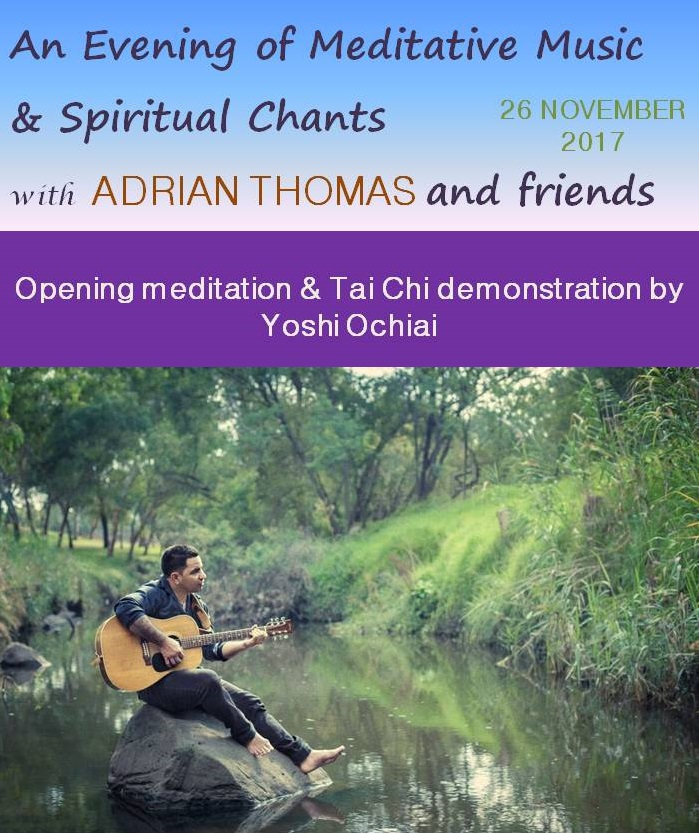 Meditative Music & Spiritual Chants with Adrian Thomas and friends