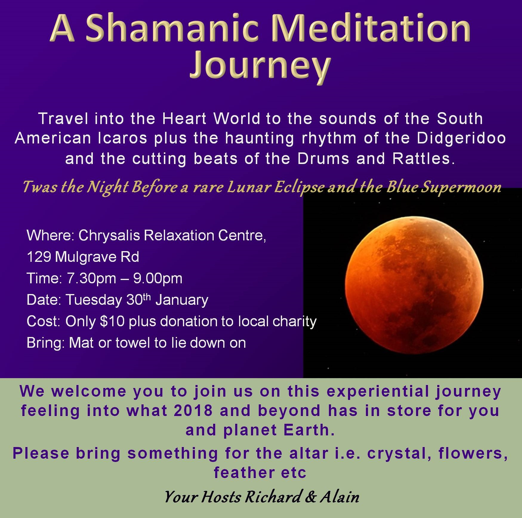A Shamanic Meditation Journey
