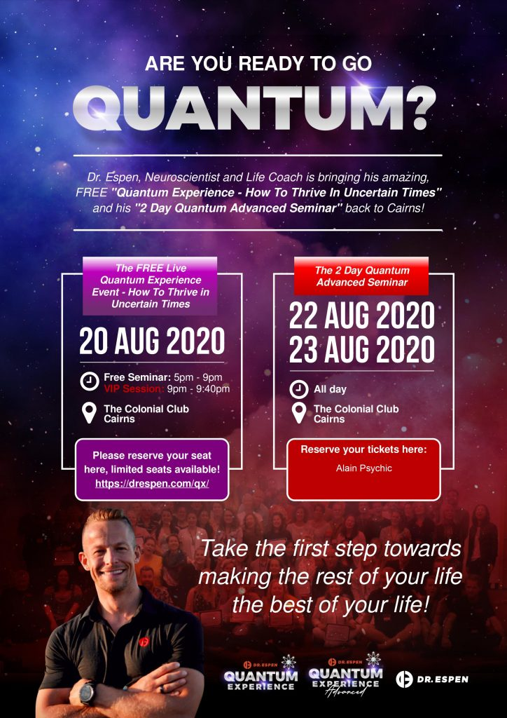 Quantum Experience Seminar Cairns with Dr Espen Hjalmby